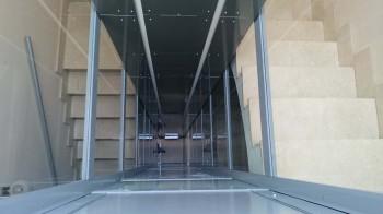 Plataforma sin cabina Vila-real hueco interior estructura